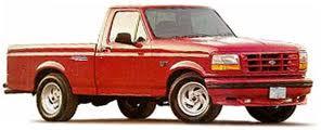 1993 Ford F150 SVT Lightning truck