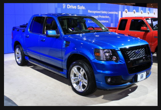 blue 2010 Ford SVT adrenalin truck for sale here in Clinton IL