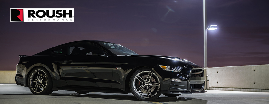 black roush stage 1 mustang at our ford delaership