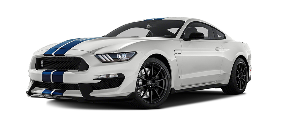 brand new white shelby gt350 performance mustang