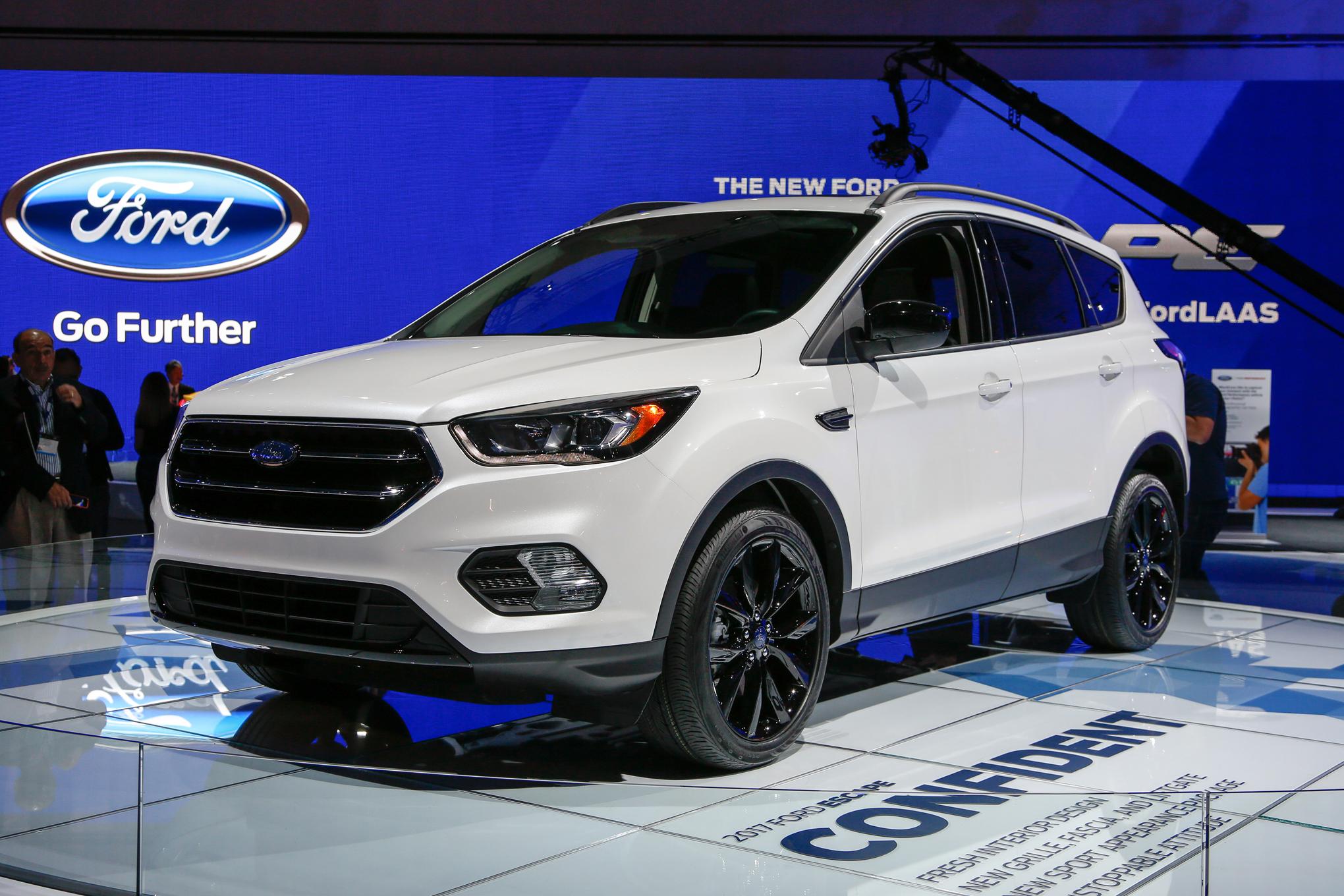 brand new Ford escape at the Alpharetta GA car show