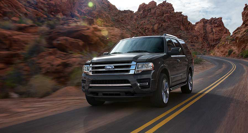 new black ford expedition SUV