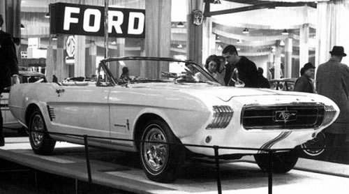 iconic ford mustang convertible