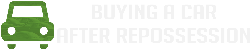 buying a car after a repossession infographic