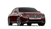 brand new red lincoln continental ready to lease