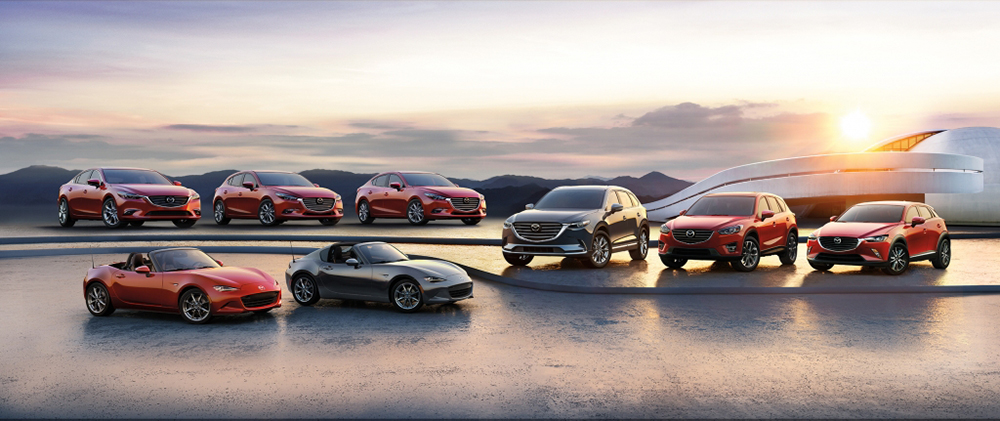 Every model Mazda to choose from at Apple Leasing