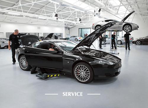 Service  your Aston Martin