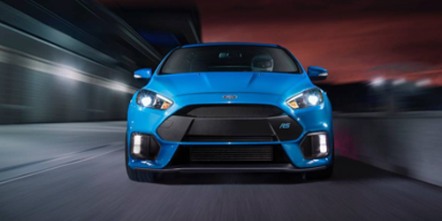 front end of the new ford focus rs that we have for sale in Dover NH