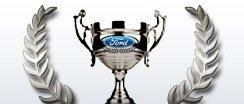 Ford silver trophy award logo