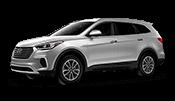 Lese this Silver Hyundai Sante Fe
