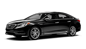 Black Hyundai Sonata is your next luxury sedan