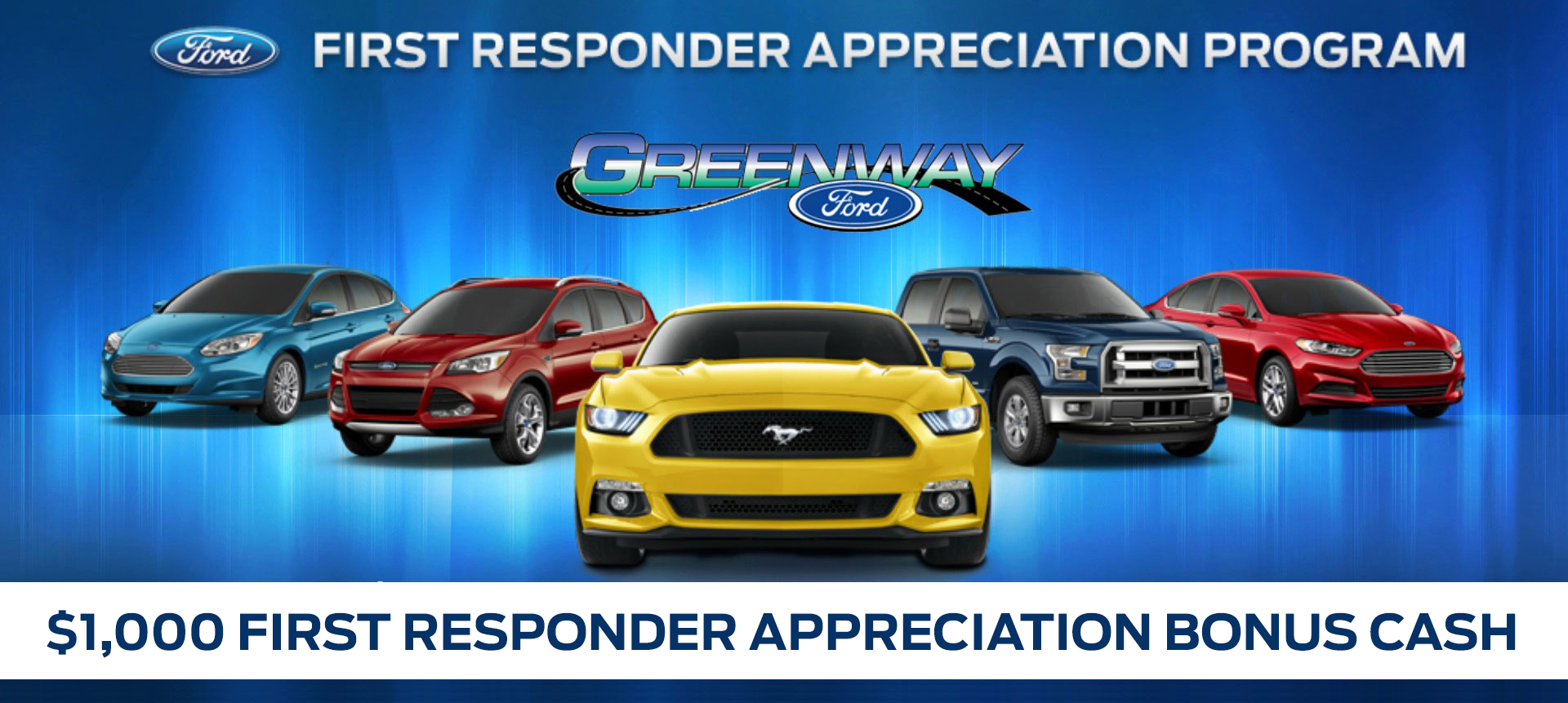 $1000 First responder car program from Greenway Ford in Orlando FL  sc 1 st  Greenway Ford & First Responders Appreciation Program - Greenway Ford markmcfarlin.com