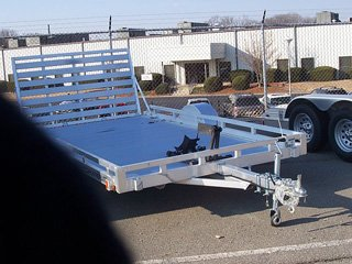 Featherlite 1693 ATV and motorcycle trailer for sale