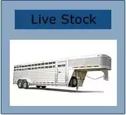 double axle live stock trailer by featherlite