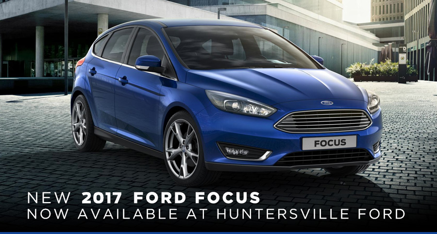 Blue 2016 Ford Focus 4-door