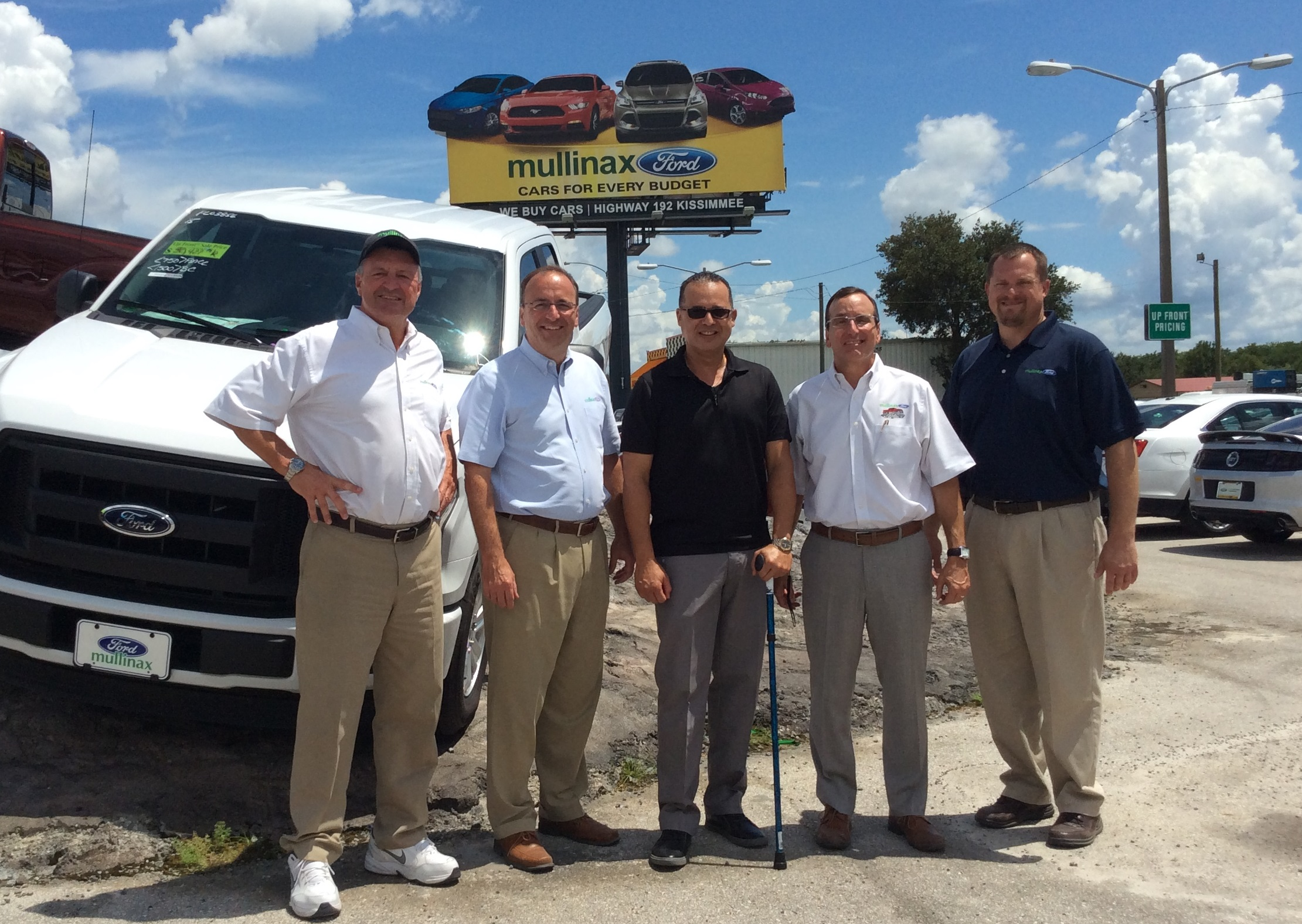 Mullinax Ford winners of a brand new Ford 150 pickup truck