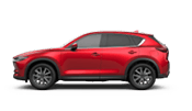 Red mazda cx-5 suv that can fit 5 people