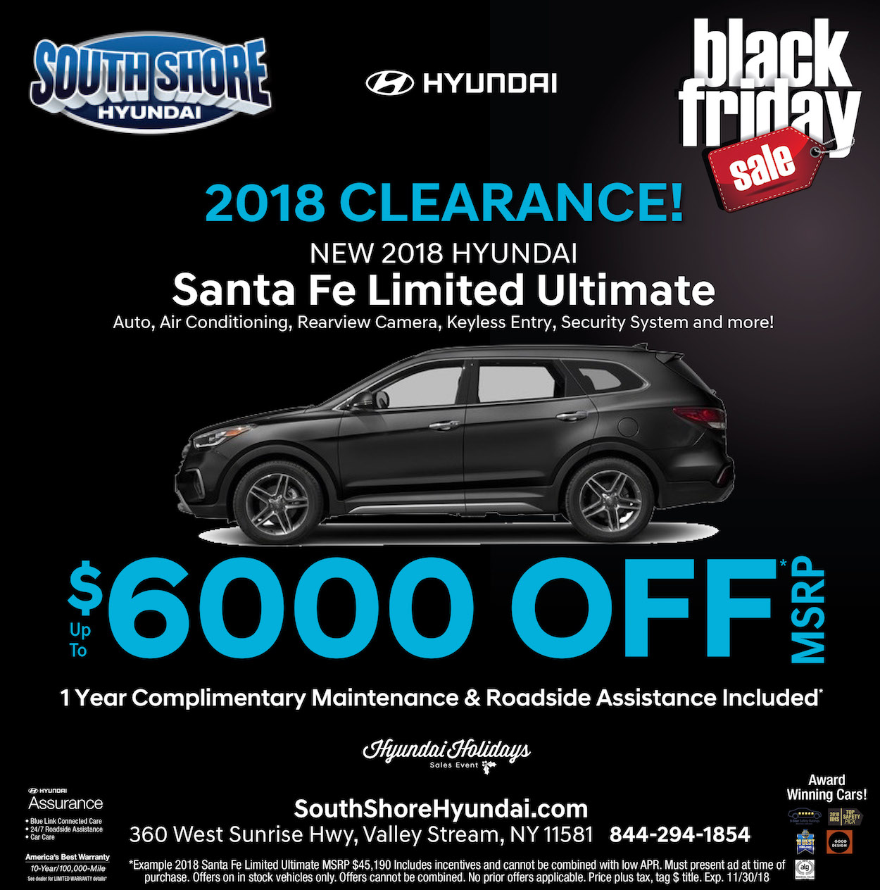 santa fe limited clearance offer