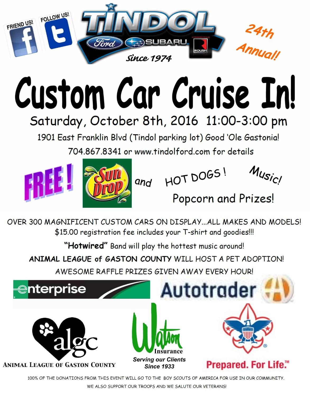 Tindol Custom Car Cruise In