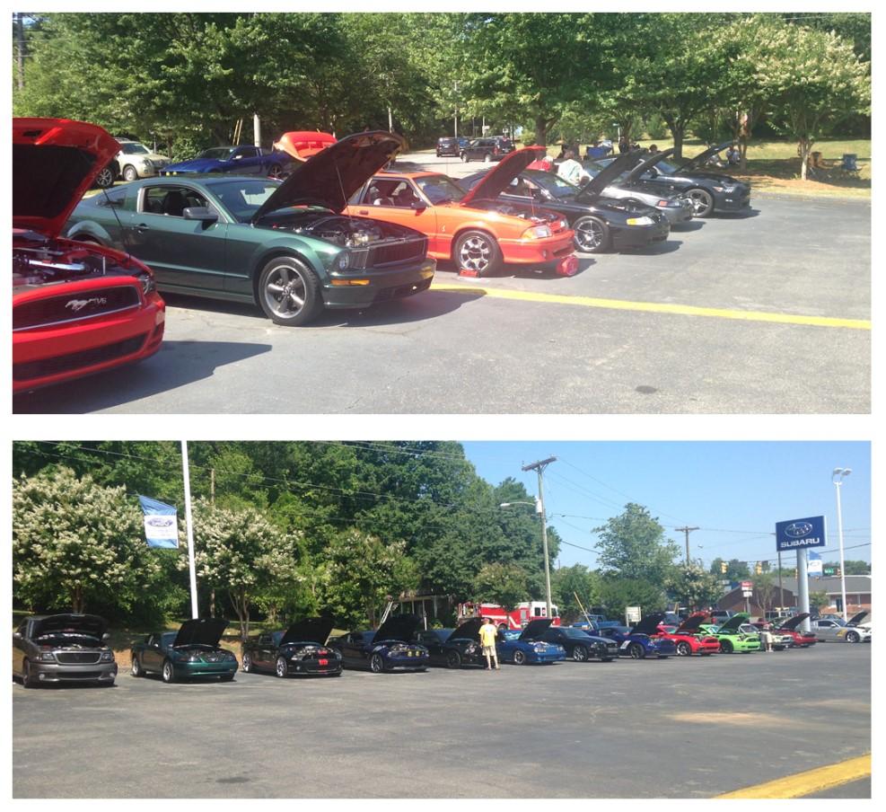 Tindol Mustang Rally 2015