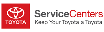 Toyota Service Center oil change logo