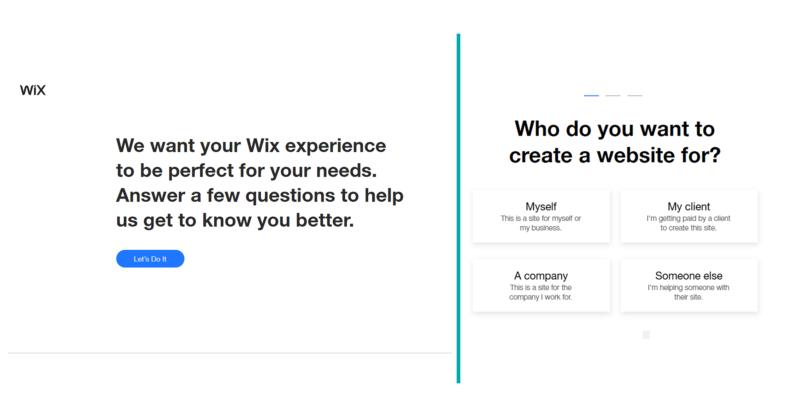 Choosing your Wix website design
