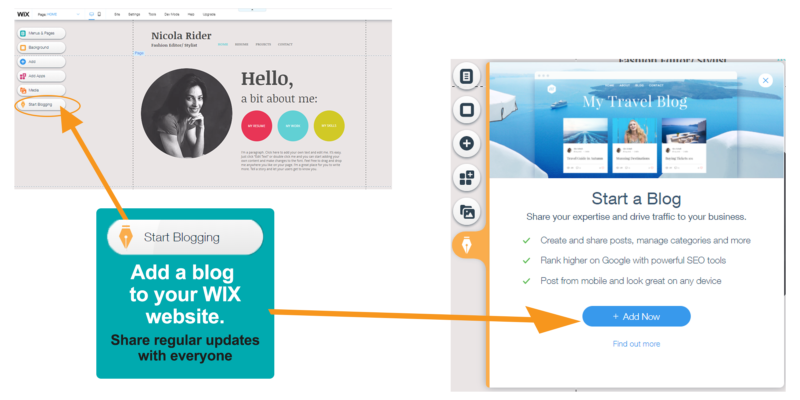 Adding a blog to . your website is easy if you plan to share regular updates with your audience.
