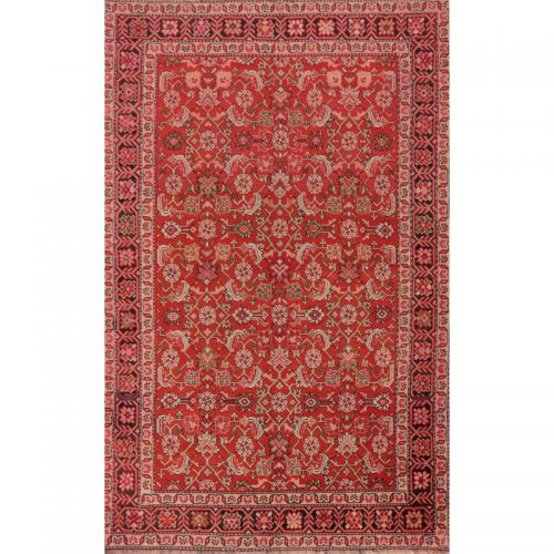 Antique Russian Shirvan Area Rug 4.3x6.7 - A102303