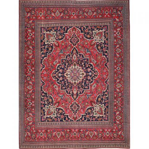"""8'7"""" x 11'3"""" Antique Persian Doroksh-Khorassan Rug - 104155"""