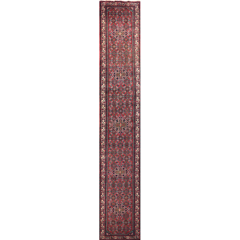 Antique Hand-woven Persian Hosseinabad Rug 2.8 x 16.8 - 108669