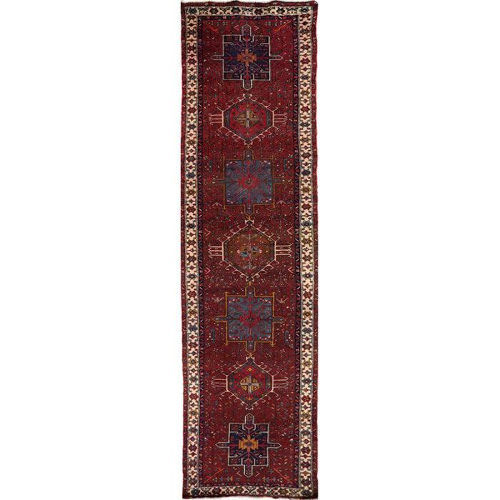 Antique Persian Karajeh Area Rug 3.5x13.4 - B101503