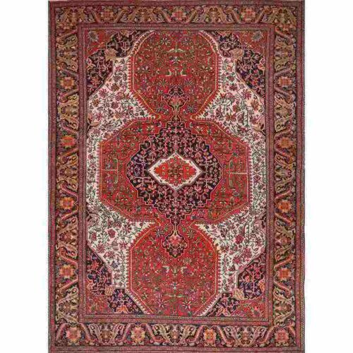"9'0"" x 12'0"" Antique Persian Farahan Rug -107462"