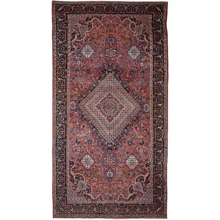 """10'10"""" x 20'7"""" Antique Persian Bakhtiari Sharcord Rug - 107235"""