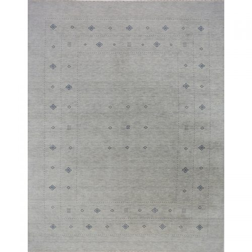 Traditional Hand-woven Persian Gabbeh Tribal Rug 9.1 x 11.9 - 402