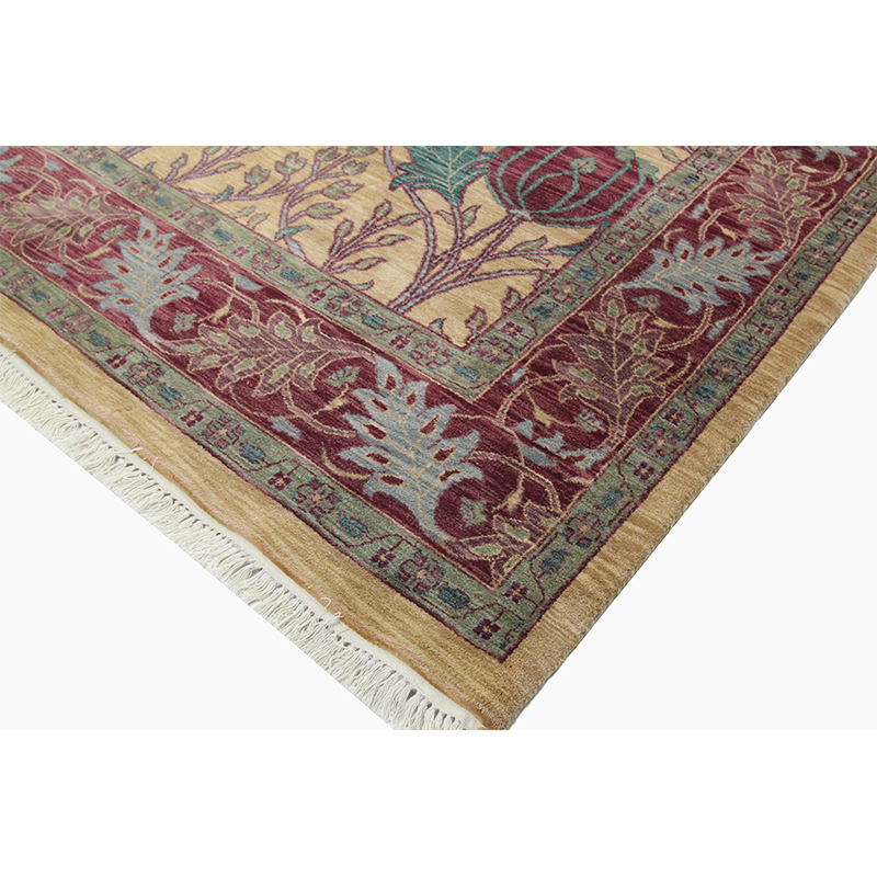 Traditional Hand Woven European Style Rug 11 10 X 17 8