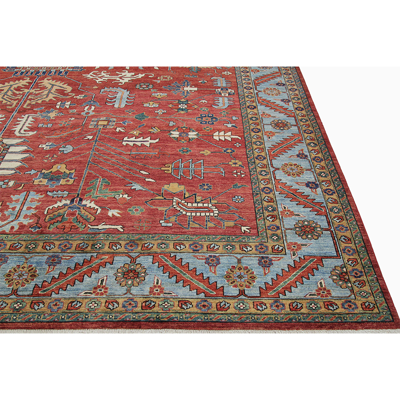 B500435 Traditional Hand Woven Persian Serapi Style Rug