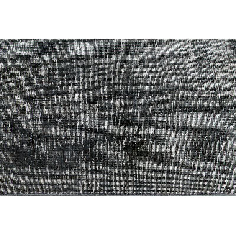 Distressed Overdyed Hand Woven Persian Style Rug 7 8 X 11
