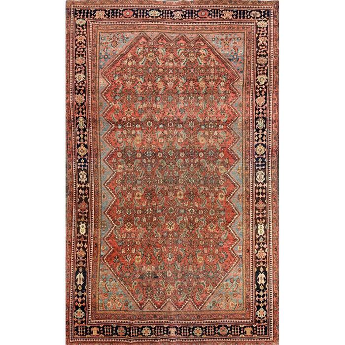 Hand-woven Persian Farahan Rug 4.1 x 6.10 - 102321 (1)
