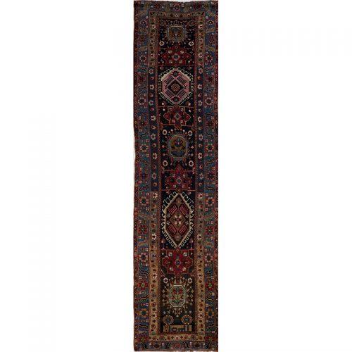 "3'4"" x 13'8"" Antique Persian Kord Runner - 107790"