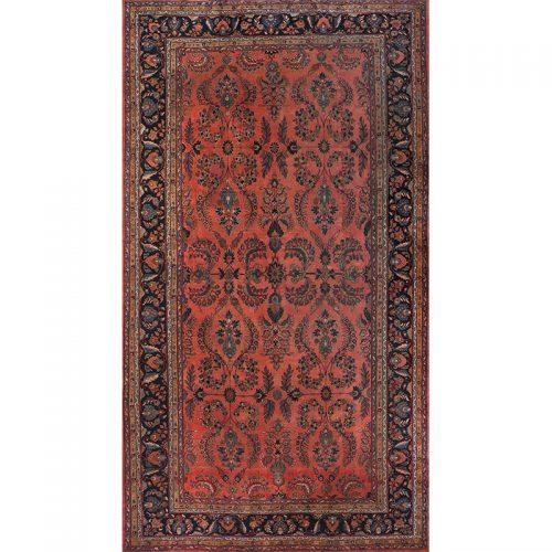 """11'10"""" x 21'8"""" Antique Persian Lilihan Rug - 106473"""
