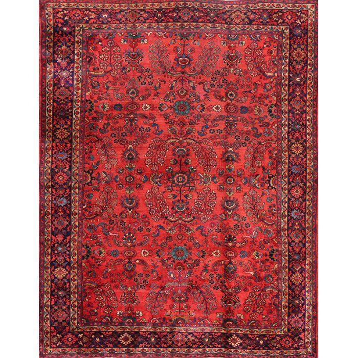 """10'9"""" x 14'0"""" Antique Persian Mahal Rug - 101467"""