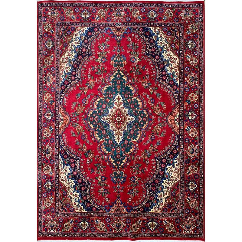 """8'0"""" x 11'3"""" Old Persian Tabriz Rug - 104696"""