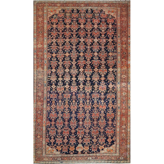 Antique Persian Malayer Area Rug 13.2x21.9 - A500104