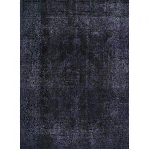 Vintage Distressed Overdyed Persian Tabriz Rug 9.0 x 12.3 - 108890