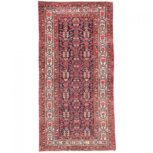 5x10 Antique Persian Malayer Rug - 103616