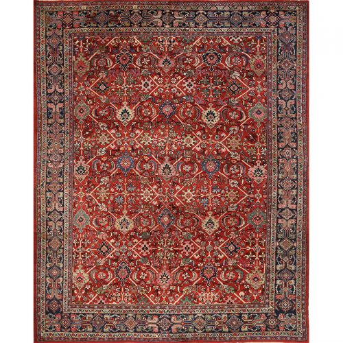 """9'6"""" x 12'0"""" Antique Persian Mahal Rug - 108208"""