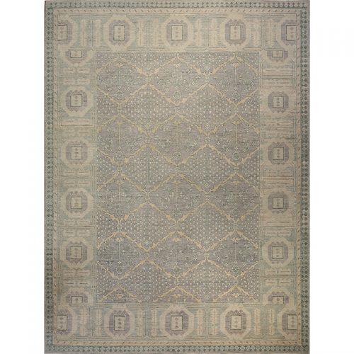 9x12 Gray Oushak Style Rug - 108513