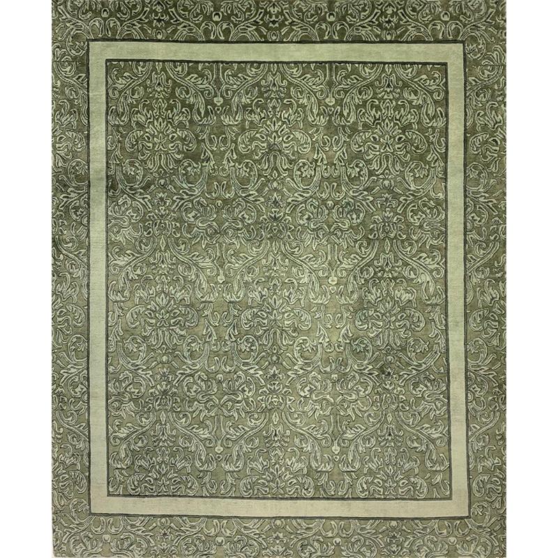 Tibetan Style Area Rug 8.0x9.11 - 102052