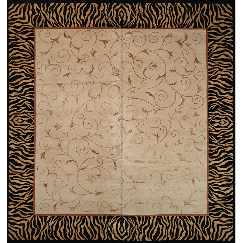 """14'0"""" x 14'6"""" Transitional Area Rug - 106938"""
