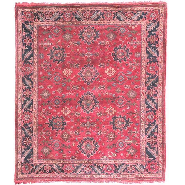 9x11 Antique RedTurkish Oushak Rug - 103586